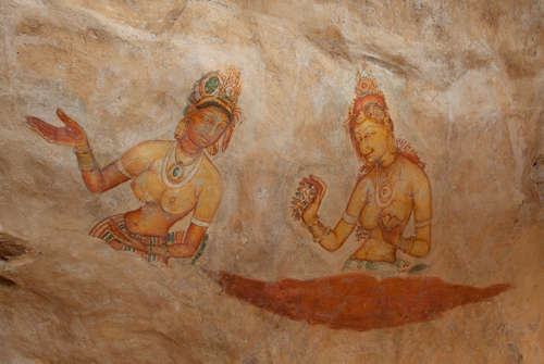 Fresco of Sigiriya